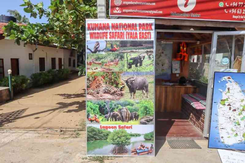 Things to do in Arugam Bay, day tours on offer to national park from Arugam Bay