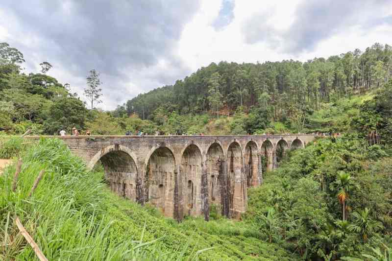 Nine Arch Bridge in Ella | visiting little adams peak and nine arch bridge in Ella