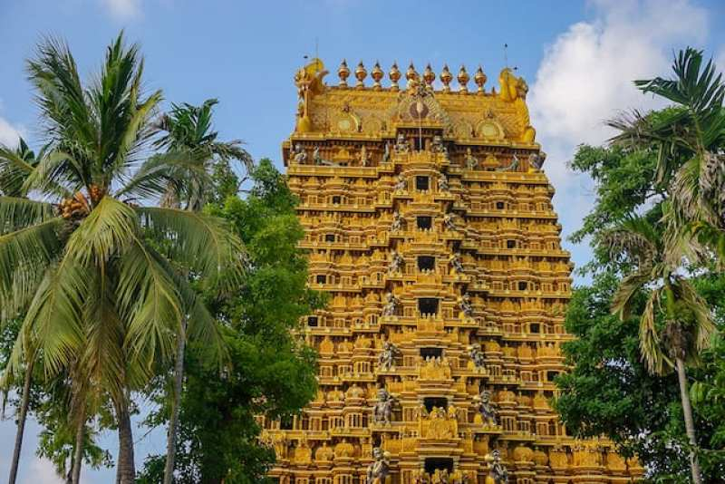 Hindu Temple in Jaffna | best places to visit in Sri Lanka