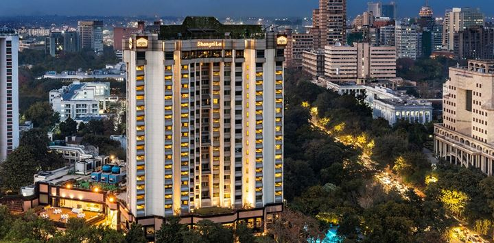 shangri la hotel delhi from outside