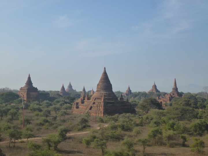 Bagan Temples | best places to travel in Asia December and January