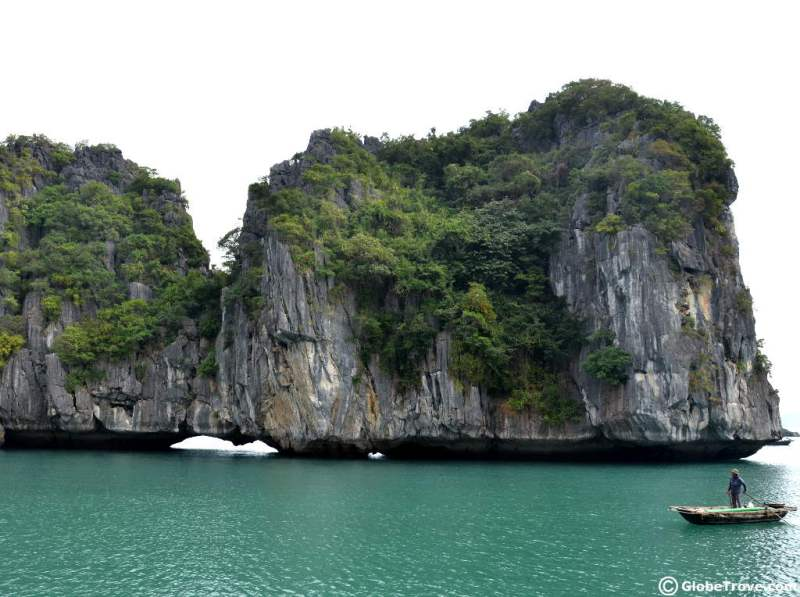 Cat Ba island limestone | best places to travel in Asia December and January