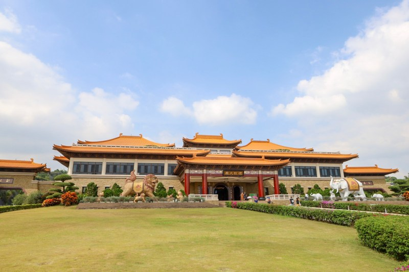 Fo Guang Shan Kaohsiung, Entrance to Fo Guang Shan Monastery