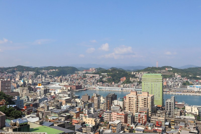 best places to visit in Taiwan, view of Keelung city