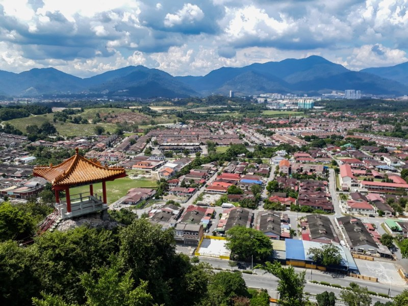 ipoh mountain view | best places to travel in Asia December and January