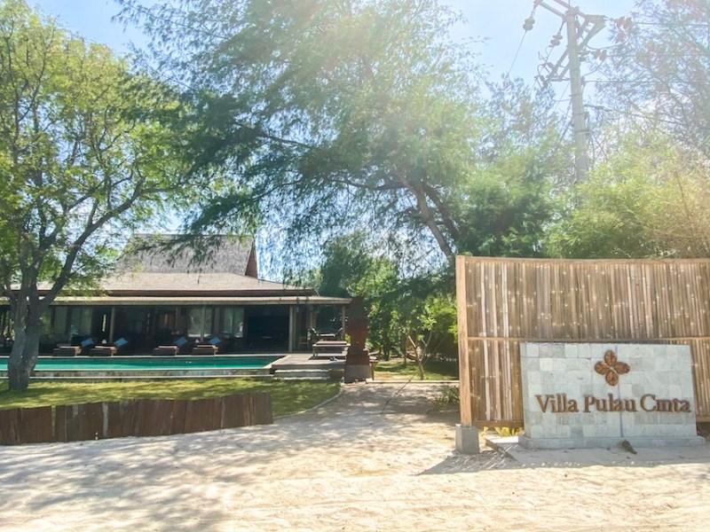 Villa Pulau Cinta Gili Meno Accommodation