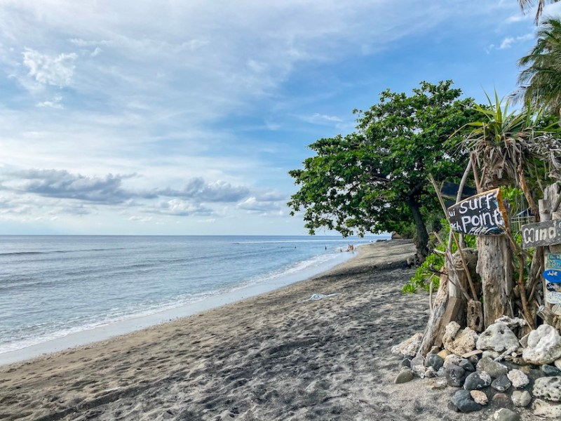 Klui Beach and Surf Shack | Lombok and Bali itinerary