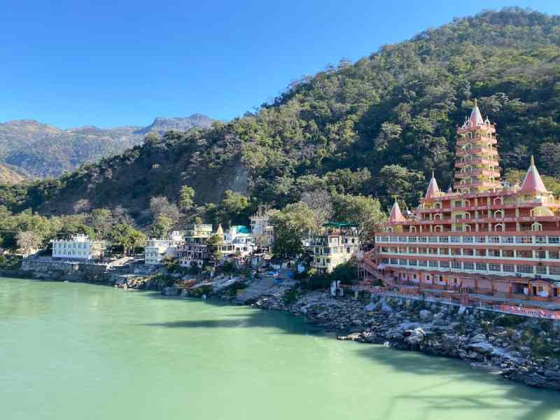 2 month India itinerary, Rishikesh