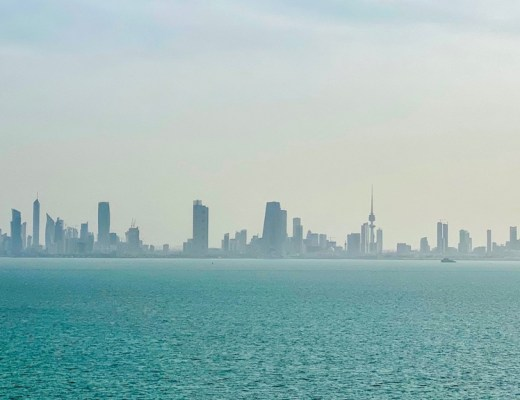 kuwait city skyline | places to visit in kuwait