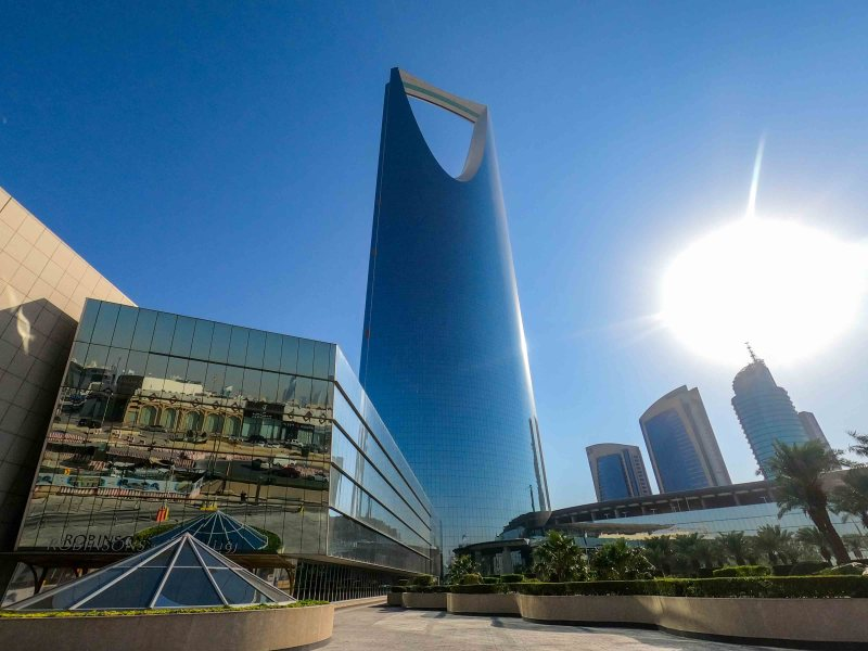 things to do in Riyadh, Kingdom Tower in Riyadh