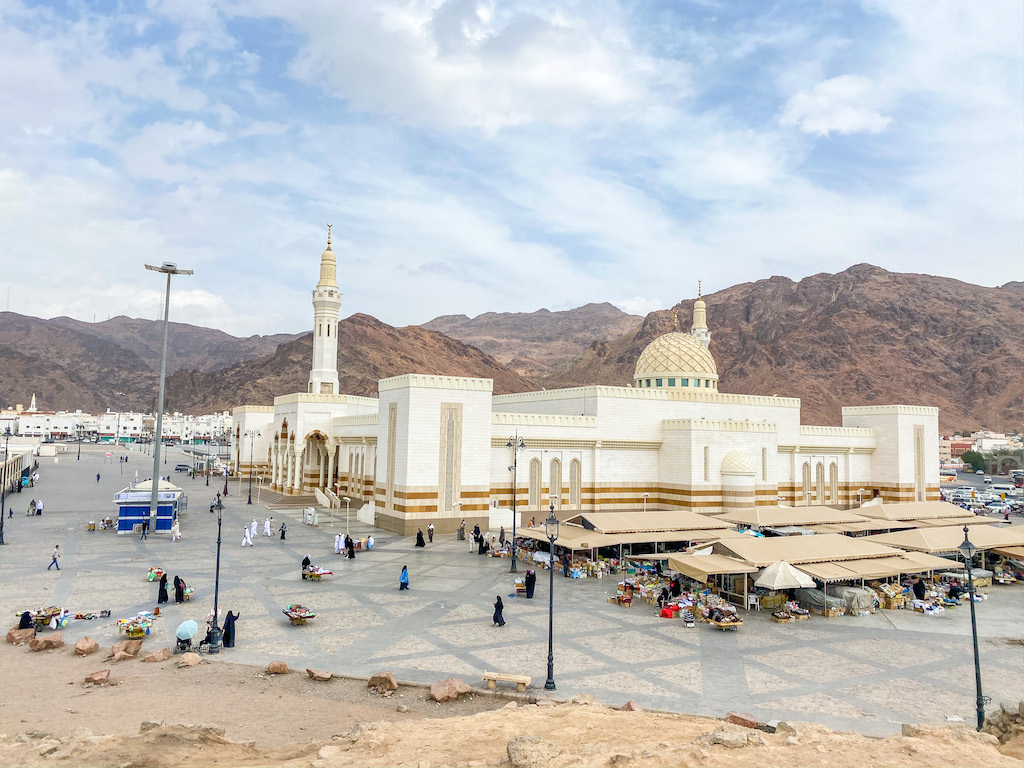 Can non-muslims visit Madinah?, Uhud Mountain and Mosque