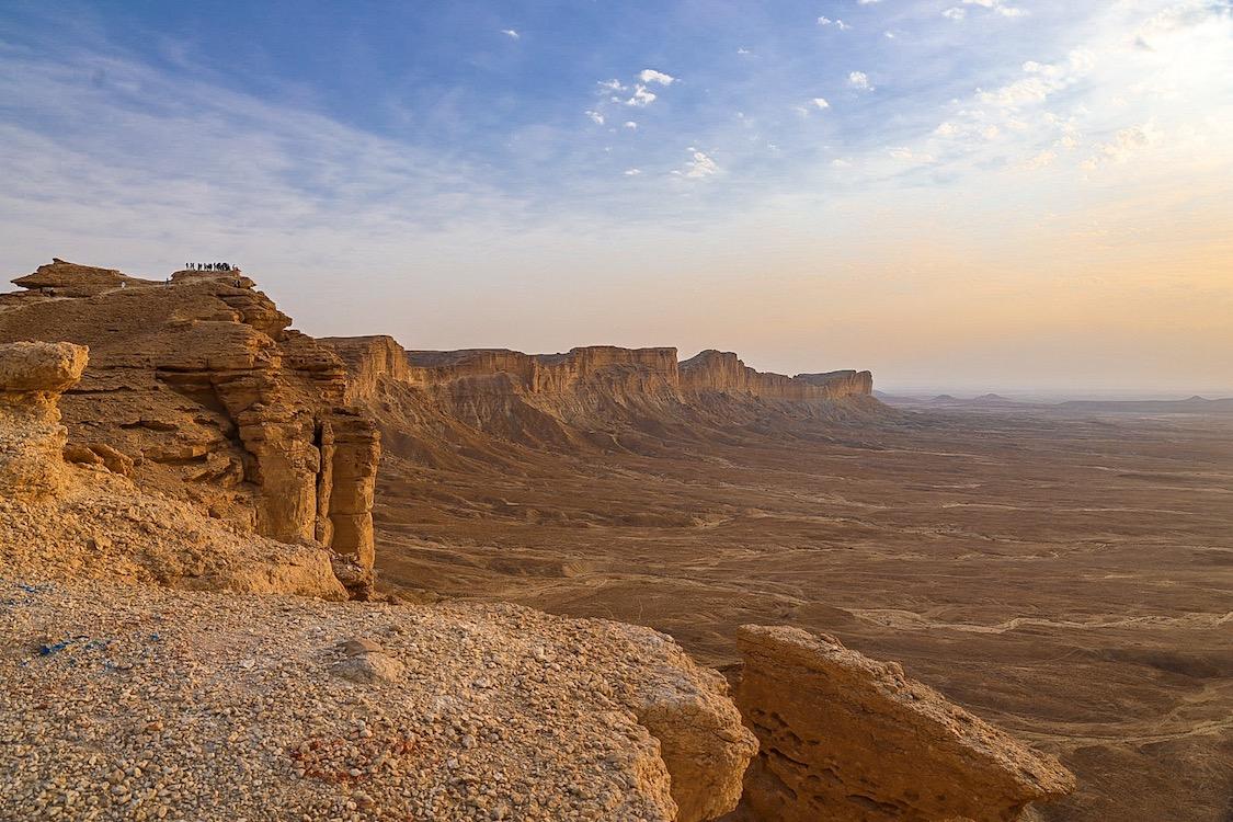 Edge of the World Riyadh Tour, Sunset at Edge of the World