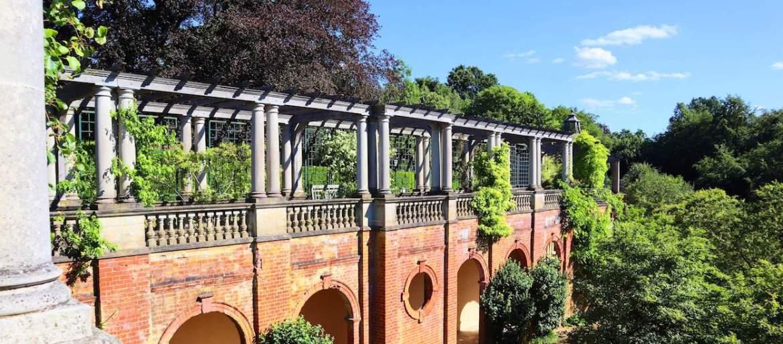 Hampstead Heath Pergola Hill Garden