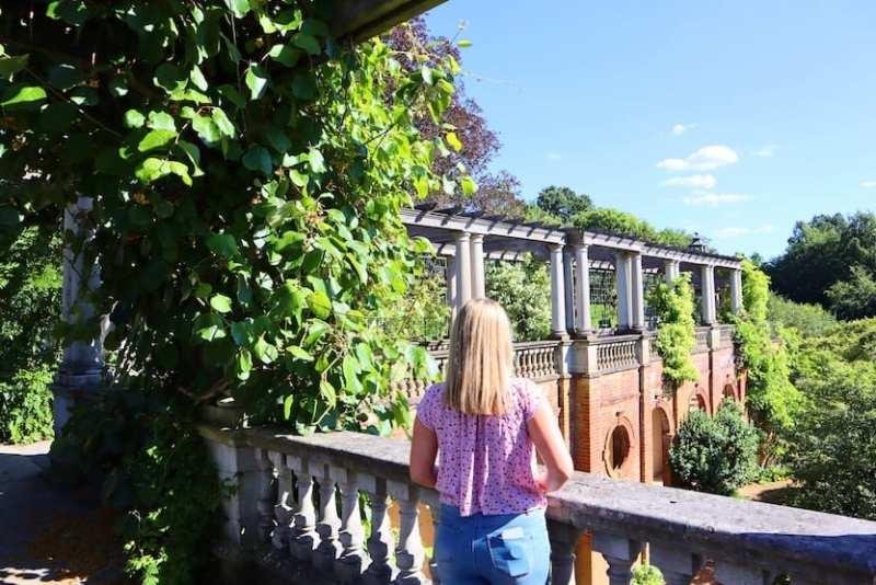 ellie quinn in Hampstead Heath Pergola Hill Garden