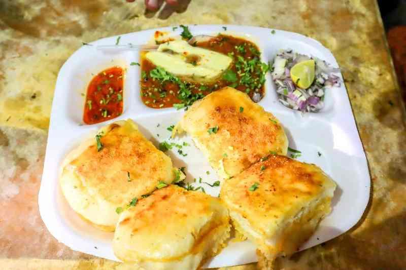 Online cooking class for pav bhaji
