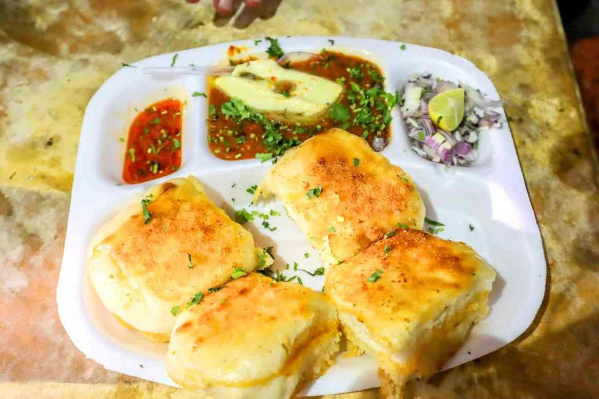 Online cooking class for pav bhaji