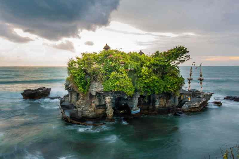 Tanah Lot Sunset Bali | Best Bali Sunset