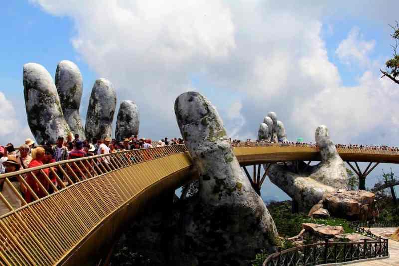 Things To Do in Da Nang, Golden Bridge