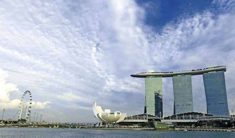 One Day in Singapore, Marina Sands Hotel