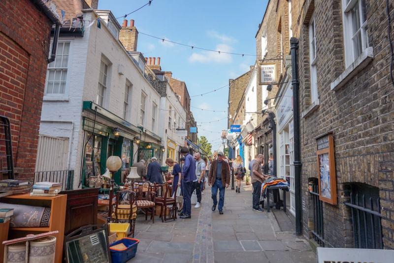 4 day london itinerary, Hampstead High Street