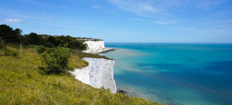 White Cliffs of Dover from London