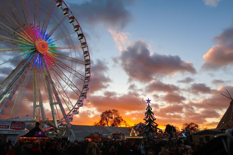 things to do in winter in London, Winter Wonderland