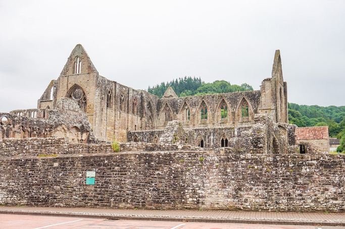 day trip from Cardiff, Tintern Abbey