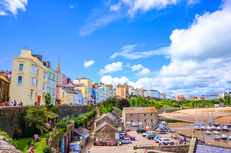 day trip from Cardiff, Tenby, Pembrokeshire
