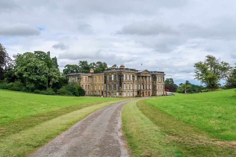 Calke Abbey Walks, Calke Abbey House