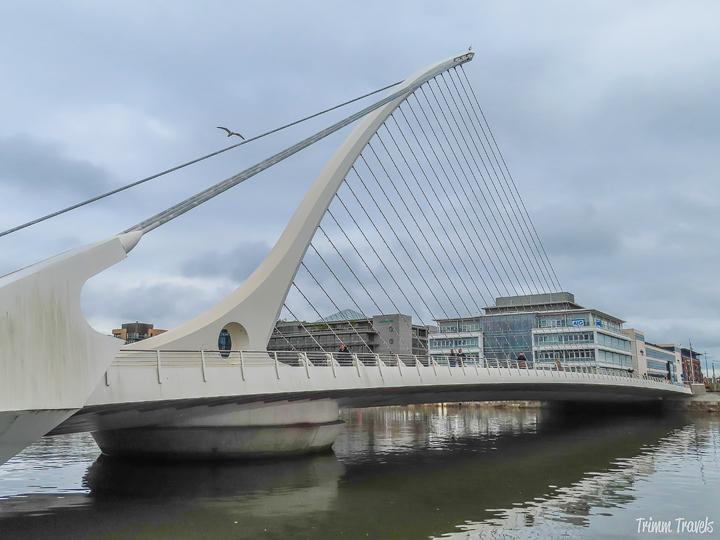 hidden gems in Dublin, Samuel Beckett Bridge