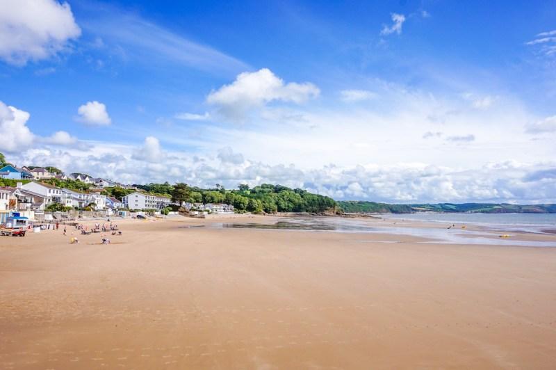 Wales road trip, Saundersfoot Beach