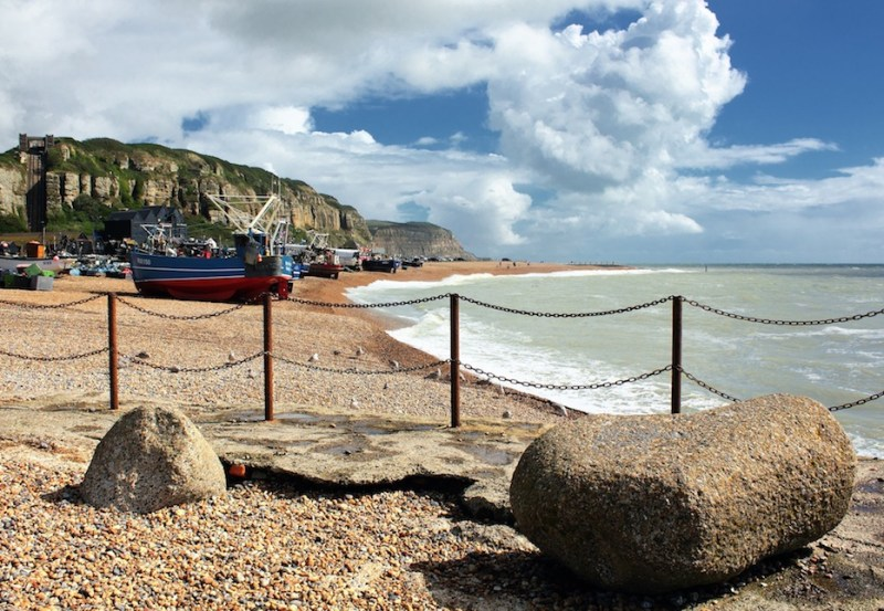 day trips from London in winter, Hastings