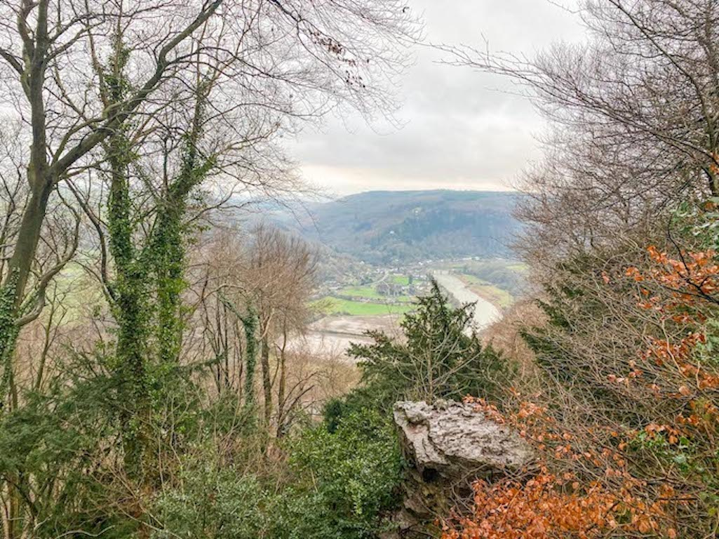 Wye Valley, Devils Pulpit View, Wales Road Trip