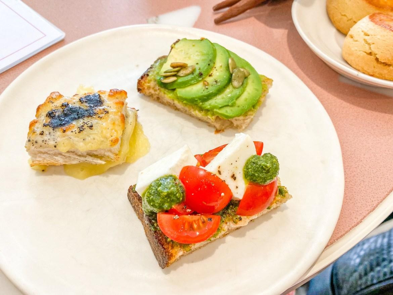 Bafarat Cafe, Savoury options