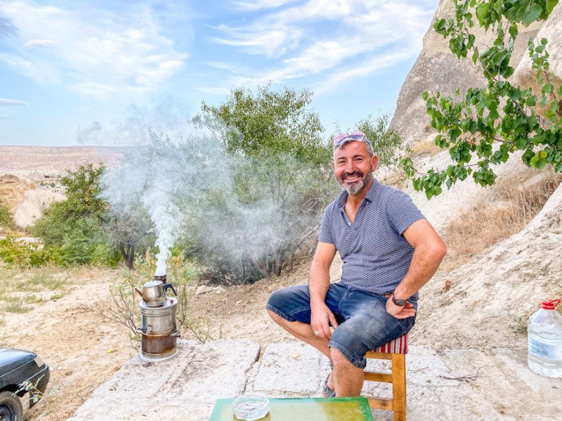Pigeon Valley Cappadocia, Adem Tea
