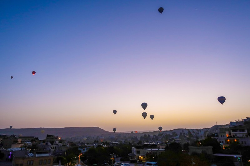 best time to visit Cappadocia, sunrise hot air balloons