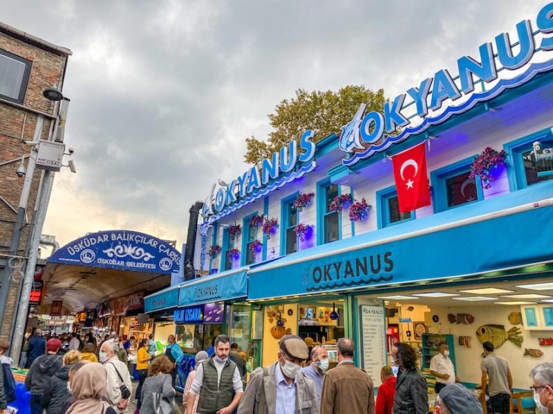 things to do in Uskudar, Uskudar Fish Market