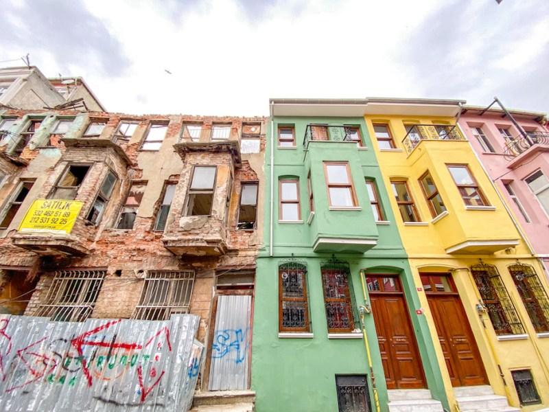 Balat Istanbul Abandoned buildings