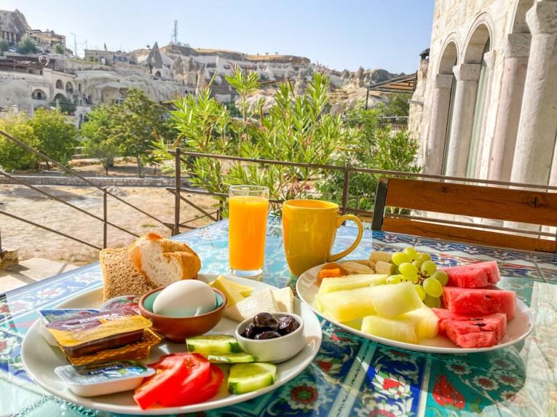 Cappadocia Itinerary, Design Cappadocia Hotel Breakfast