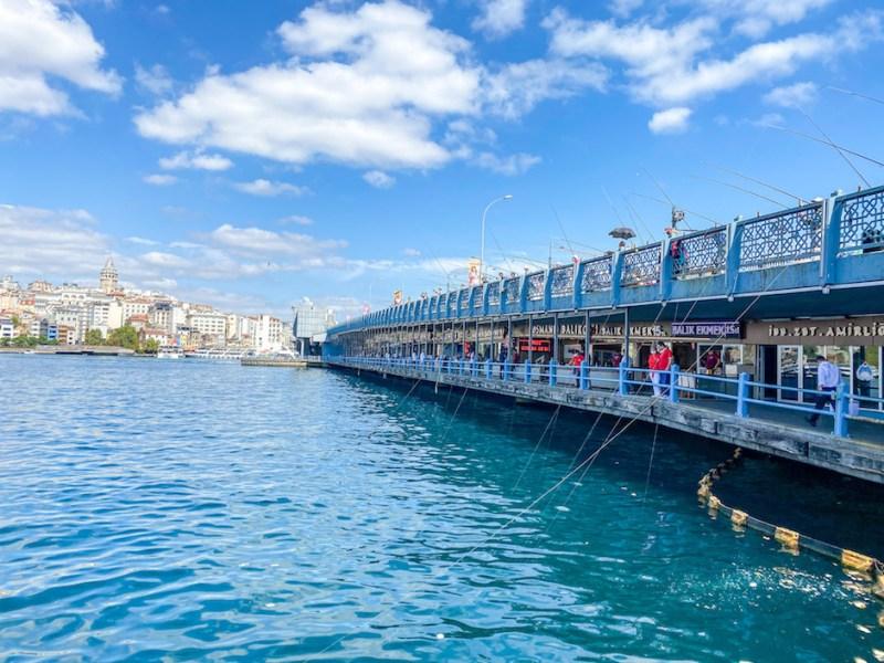 Galata Bridge, istanbul itinerary 4 days, istanbul 4 day itinerary, 4 days in Istanbul