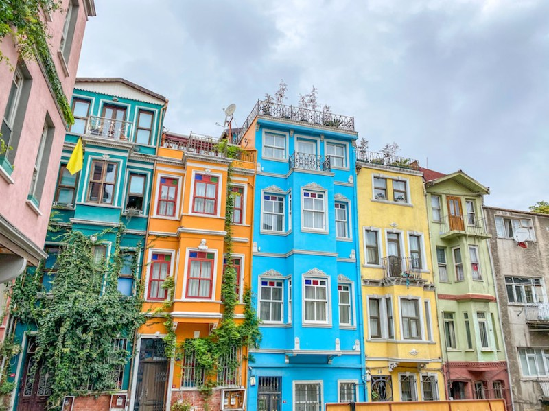 Balat Colourful houses, istanbul itinerary 4 days, istanbul 4 day itinerary, 4 days in Istanbul