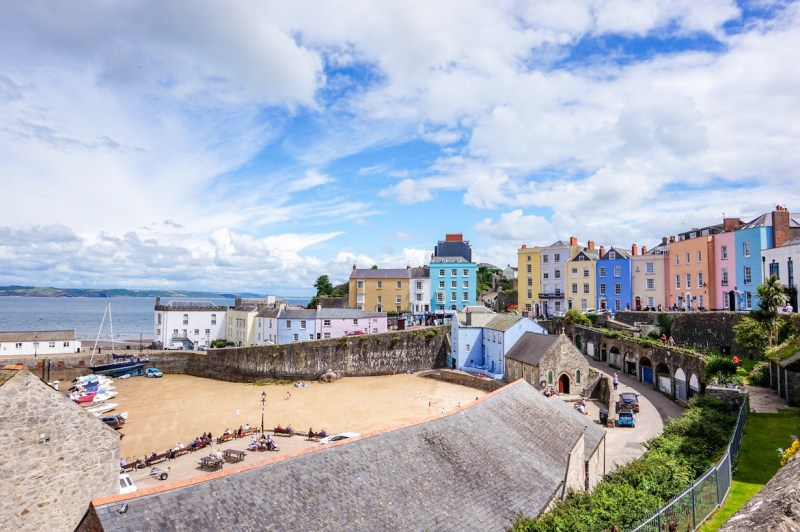 Best Time to Visit Wales, tenby town
