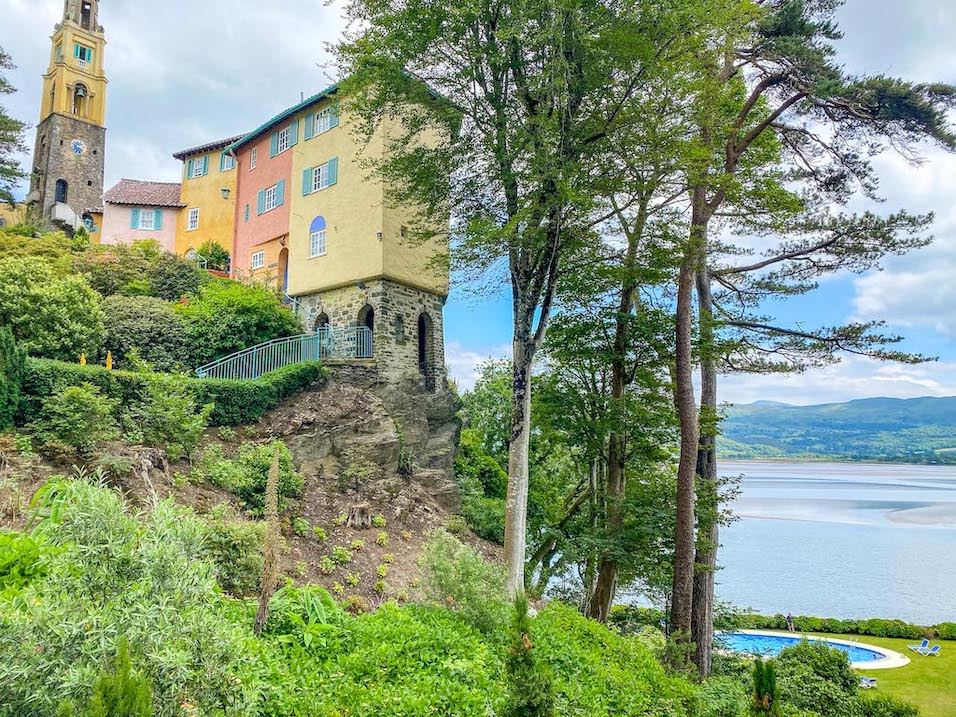Staycation in Wales, Portmeirion Village