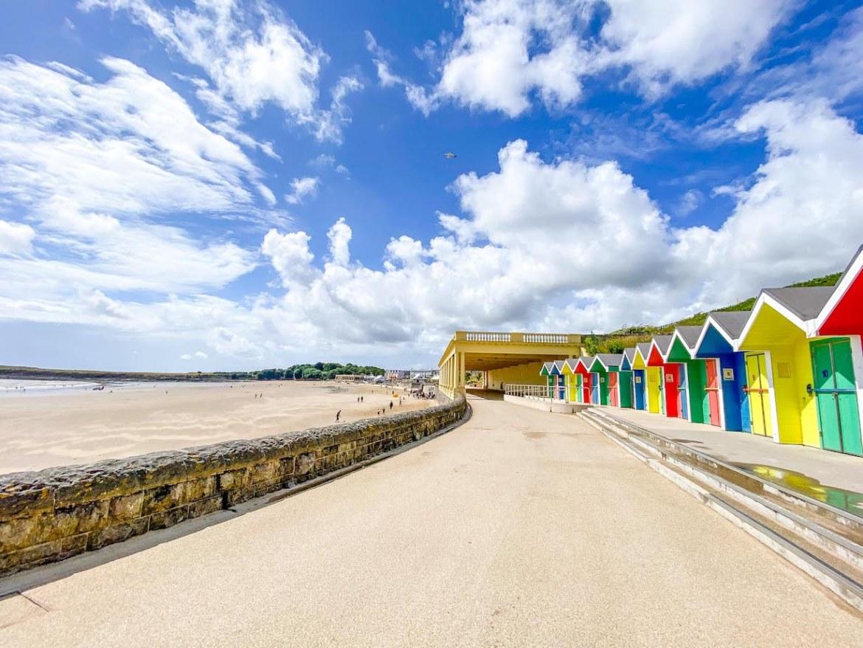 Staycation in Wales, Barry Beach
