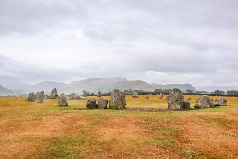 Lake District Day Trip, Castlerigg Stone Circle