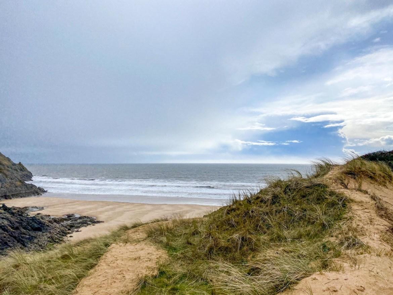 Three Cliff Bay Beach Side