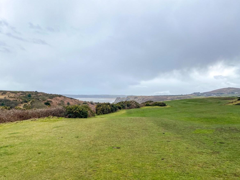 Three Cliffs Bay Field
