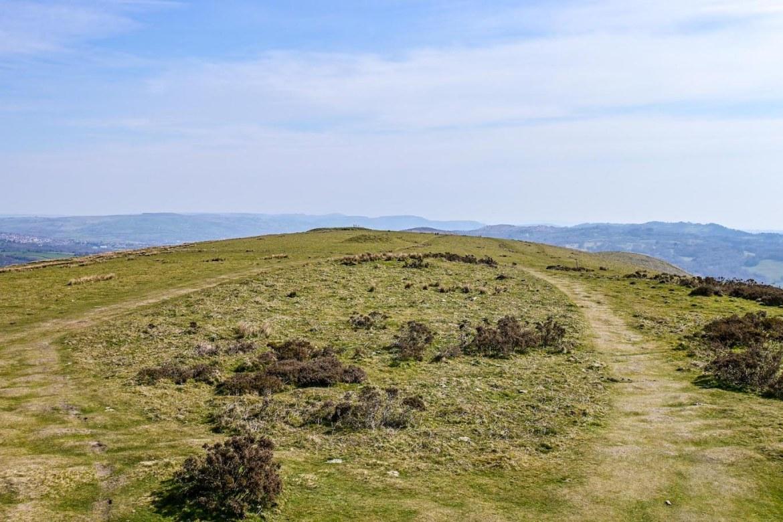 top of Garth Hill, Garth Mountain Walk