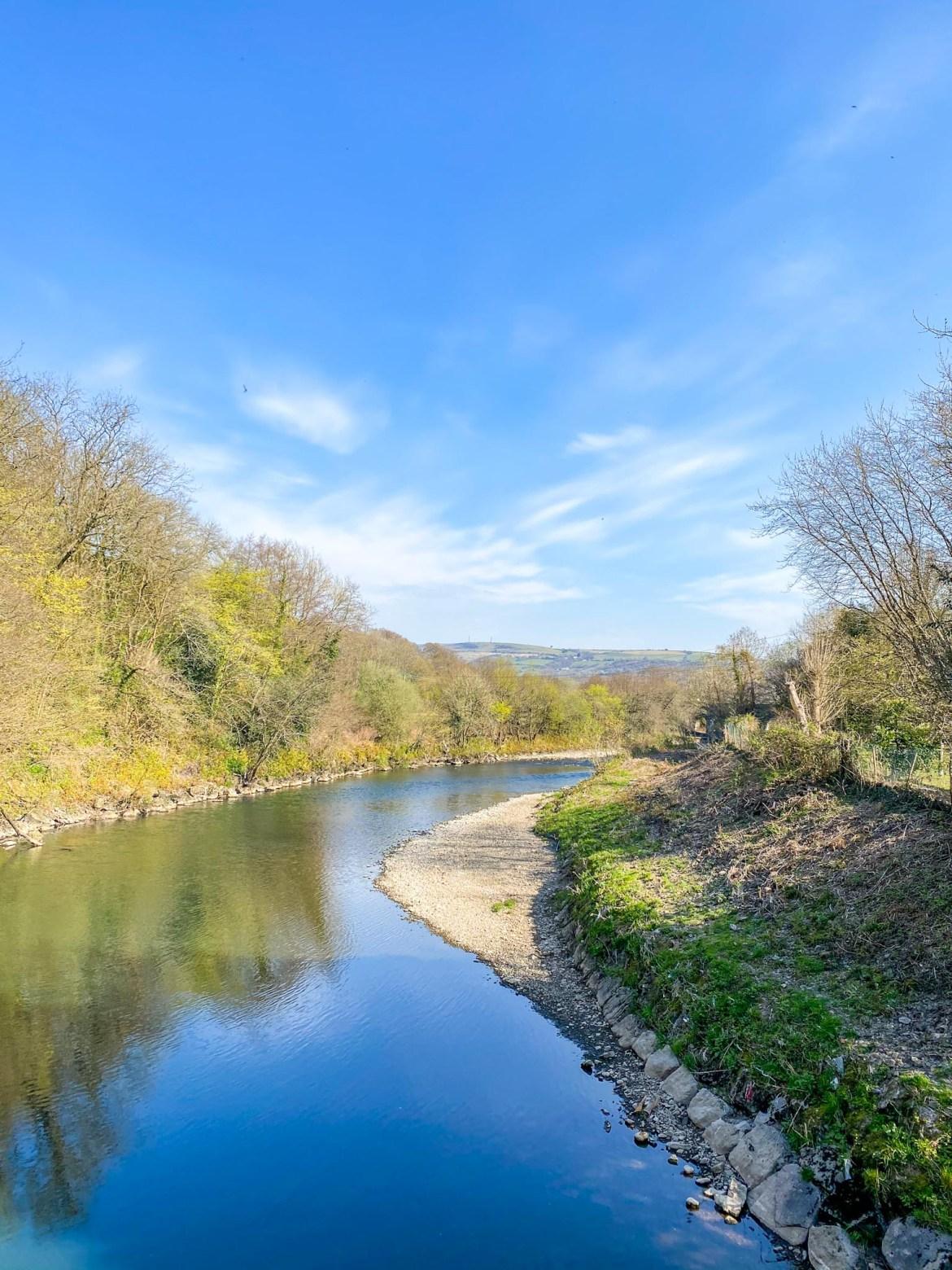 River Taff path, Garth Mountain Walk