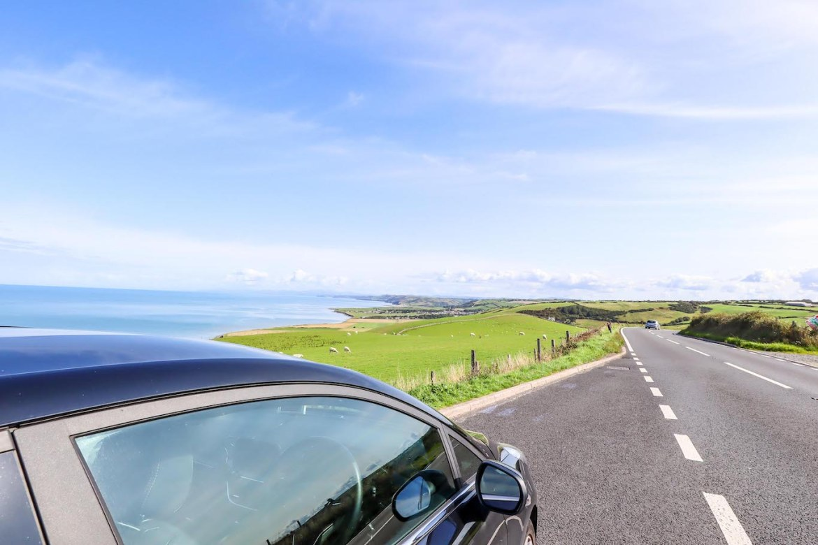 Wales west coast by car, 1 week Wales itinerary